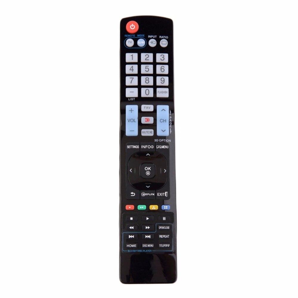 Черный Пластик Универсальная замена Дистанционное управление не требуется программирование для LG ЖК-дисплей светодиодный HD ТВ 3D Умные тел...