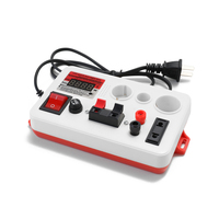 EU Plug Quick plug LED Tester Power Voltage Meter LED Strips Lamp Beads Light Quick Test Tool for Semi finished Finished Lamps