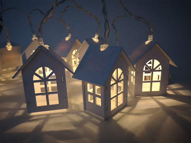 LED Christmas Tree House Style Fairy Light 4