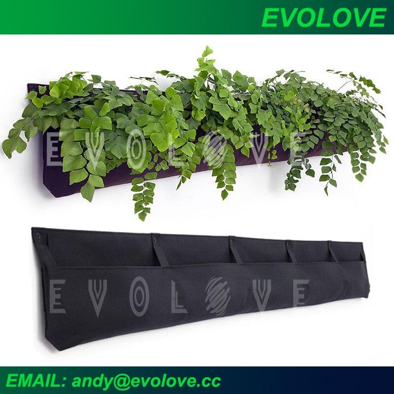 Drip Irrigation System For Vertical Garden Living Green Wall Modular  Hanging Planter Grow Bag In Flower