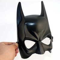 12pcs Halloween Masquerade   party     Mask   half face for men Batman   mask