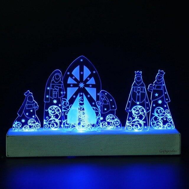 Led Accessoires Décor Ensemble Décoration De Giftgarden Sainte Nativité En À Noël La Famille CadeauxCadeau Maison FlKJ1cT