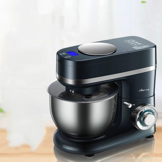 Support dours mélangeur de pâte Machine avec échelle électrique cuivre moteur pain faisant la Machine ménage cuisine aide oeuf batteur fouet
