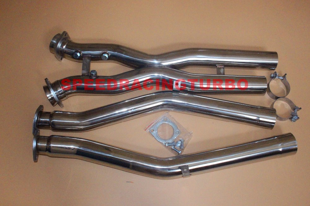 Analytical For 97-04 Corvette C5 Ls1/ls6 Header Exhaust Manifold+downpipe X Pipe Stainless Exhaust Systems