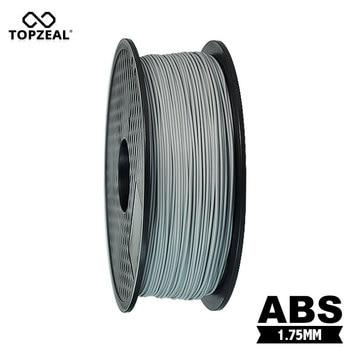 TOPZEAL 3D Printer Filament ABS 1.75mm 1KG 3D Plastic Filament ABS Filament 3D Printer Material Grey Color 1.75mm Filament фото