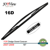 RAINFUN 16D REAR CAR WIPER BLADE FIT FOR 2007 2009 Dodge Grand Caravan SIZE 16 400MM
