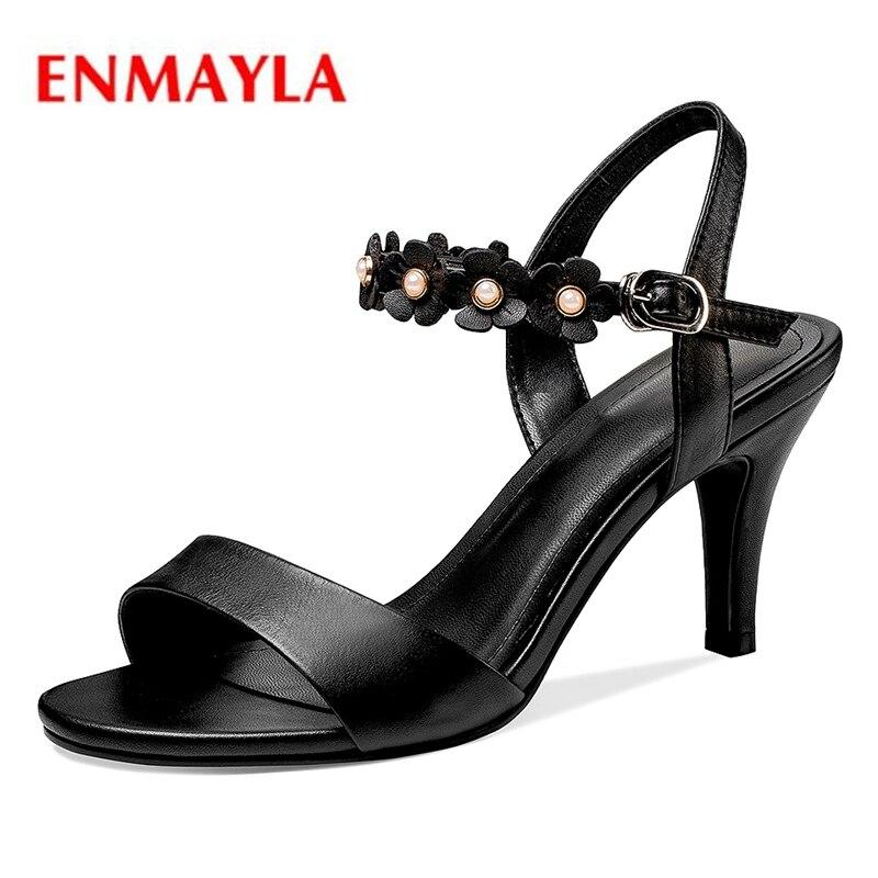 De Zyl1974 Apricot 2018 39 Correa Sandalias Mujer Femme black Tamaño Zapatos 34 Casuales Soulier Hebilla Enmayla wUxqIOf