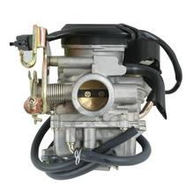 Motocicleta 25mm Combustível Gasolina Do Carburador Carb Para YAMAHA XC125 VG 5YR3 5NW-E4901-00 XC 125