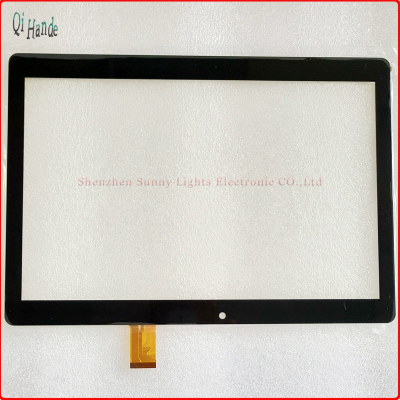 New 10.1'' inch Tablet Capacitive Touch Screen Replacement For DEXP Ursus TS310 Digitizer External screen Sensor Free Shipping black new 8 tablet pc yj314fpc v0 fhx authentic touch screen handwriting screen multi point capacitive screen external screen