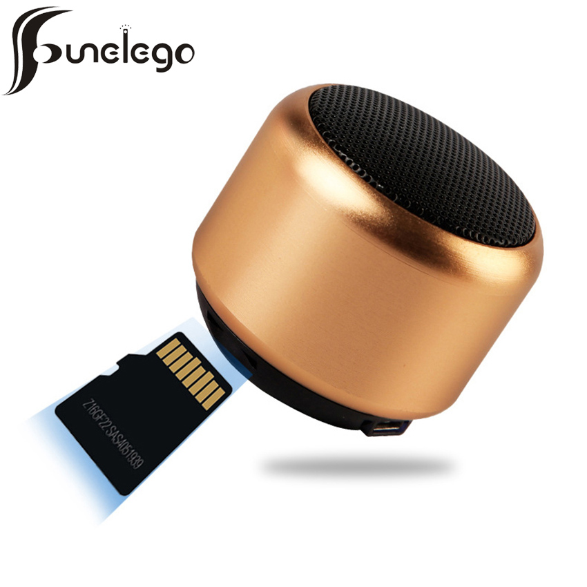 Funelego Mini Speaker Bluetooth 3W TWS Dual Combination Wireless Portable Remote Compatible For Xiaomi Huawei Subwoofer