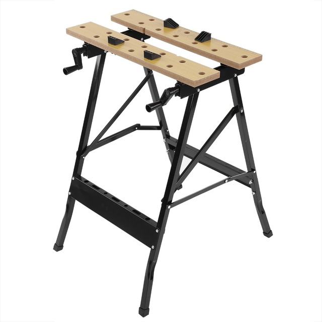 Folding Work Table Tool Workshop Repair Tools Table Shop Workbenc