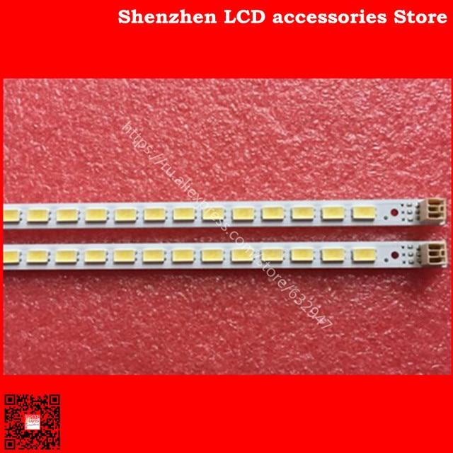 2pieces/lot is new100%    L40F3200B 40 DOWN LJ64 03029A LTA400HM13 backlight 1piece=60LED 455MM 100%NEW