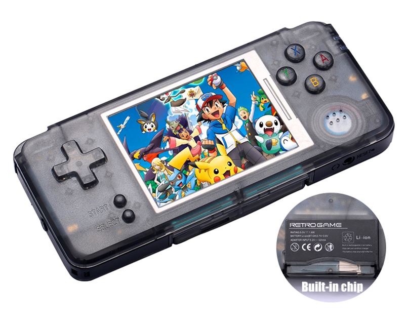 Retro Handheld Game Console 3.0 Inch Console Built-in 3000 Classic Games Support For GBA/NEOGEO/CP1/CP2