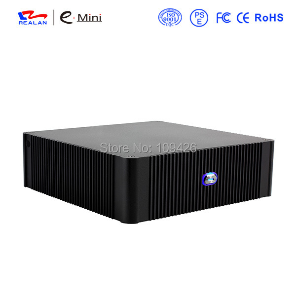 Popular Fashionable Desktop Computer Case Mid Tower Mini ITX Self-Powered Aluminum  HTPC Media player  Case E-N3 блуза lerros 36d2004 120