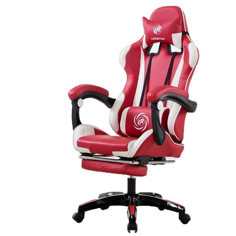Luxury Quality 111 Office Boss Silla Gamer Live Gaming Poltrona Chair With Footrest Can Lie Wheel Ergonomics Household