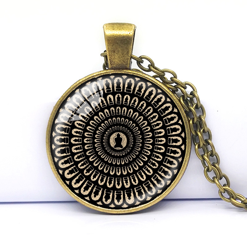 necklace bucarelli product mandala by cosima