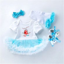 NPK Different Style Of Doll Dress Fit For 51cm/52cm/55cm Baby Doll 20-23inch Babies Reborn Doll Clothes And Accessories