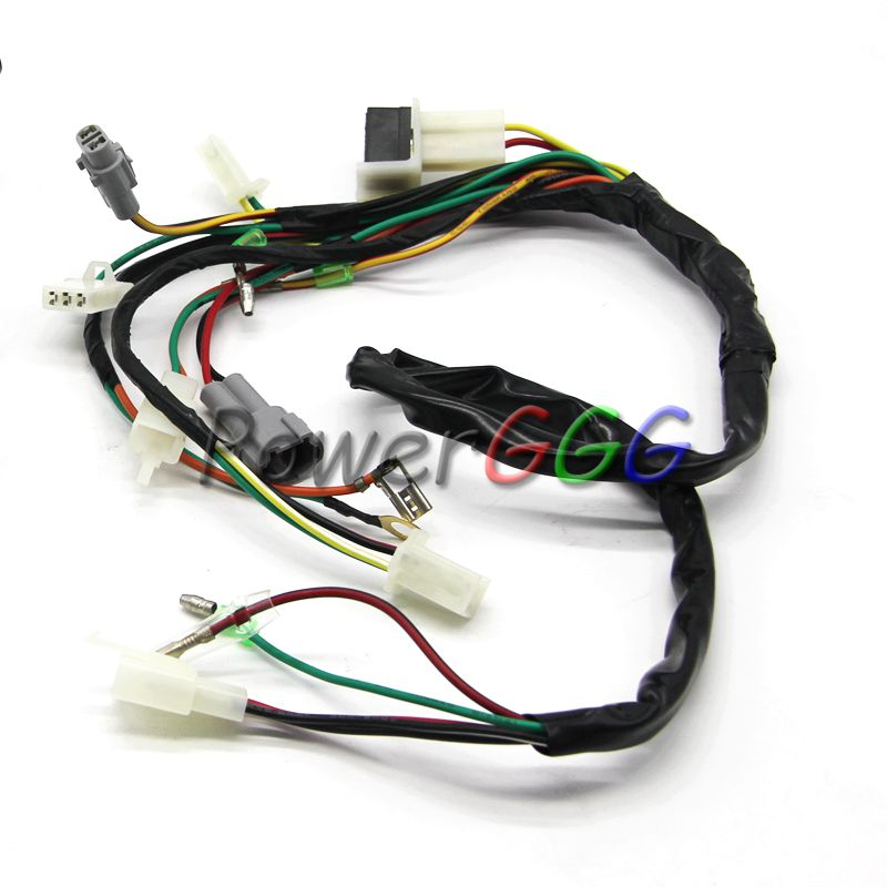 compare prices on oem electrical connectors online shopping buy yp572 oem pw50 electrical main wiring harness wire loom plus connectors for yamaha pw 50 2
