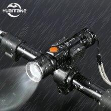 Usb Перезаряжаемые велосипед светильник светодиодный 8000 Люмен