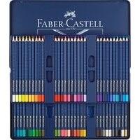 FABER CASTELL Синий Железный ящик professional 60 цвет водорастворимый карандаш книги по искусству класс посвященный цвет привести