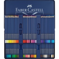 FABER CASTELL Blue iron box professional 60 color water soluble color pencil art grade art dedicated color lead