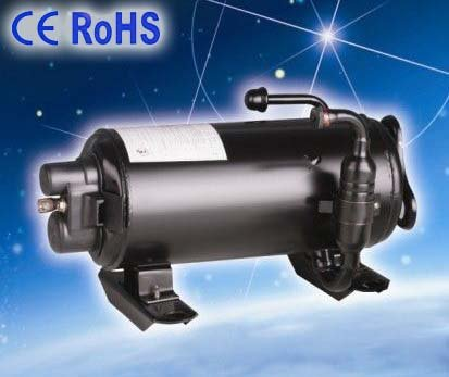 RV CE ROHS Air conditioner compressor for Recreation vehicle roof top moutain Electric compressor horizontal mounted r410a 9000btu horizontal compressors rv rooftop caravan air conditioner