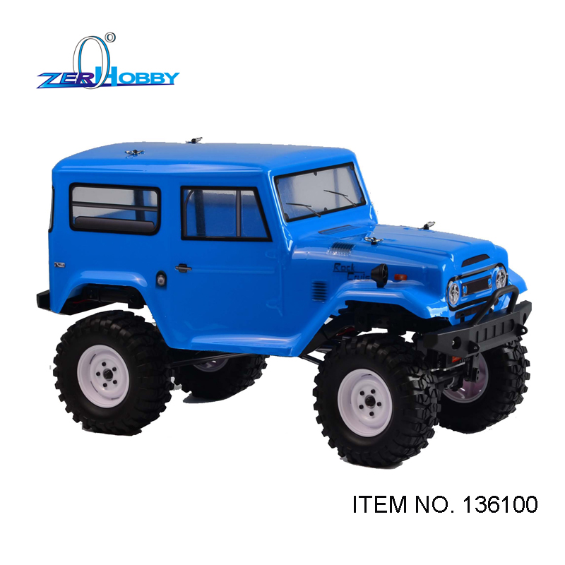 HSP Racing RGT 1/10 Scale Electric 4wd Off Road Rock Crawler Cruiser RC-4 Climbing Hobby Remote Control Car 136100 NO LED SYSTEM hsp 94180 1 10th scale rc car 4wd electric powered off road rc crawler 2 4g climbing truck car p3