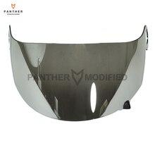 1 Pcs Chrome Motorcycle Helmet Visor Lens Full Face Shield Case for SUOMY Spec 1R Spec-1R Extreme Apex Visor Mask