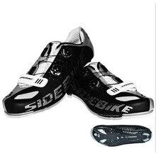 Nuevos hombres de fibra de carbono Ciclismo de ruta en bicicleta respirables antideslizantes verano mtb bicicleta zapatos ultraligero Zapatillas Zapato Ciclismo