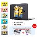 Minions tomar movible de la foto de impresión de la moda negro caso de la cubierta para apple macbook Pro Retina 13 15 Nuevo Mac Book Air 11 12 13.3 Pulgadas