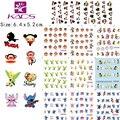 BLE1797-1807 cartoon nail art sticker stitch & Paul Homme & princess water decals nail art stickers water transfer