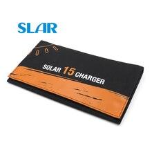 Панели солнечные Зарядное устройство с USB Порты и разъёмы 15 Вт 2500mA Солнечный Зарядное устройство солнце Мощность Батарея Зарядное устройство Мощность для мобильных телефонов 5V USB