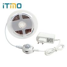 Здесь можно купить  ITimo Motion Sensor Bed Night Lights with Automatic Shut Off Timer Flexible LED Strip Wardrobe Cabinet Lamp 2M 60LEDs