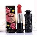 Hot 8 cores forma pênis cogumelo a umidade de longa duração batom batom lábios batom matte rouge cosmético pop kit de maquiagem dos lábios