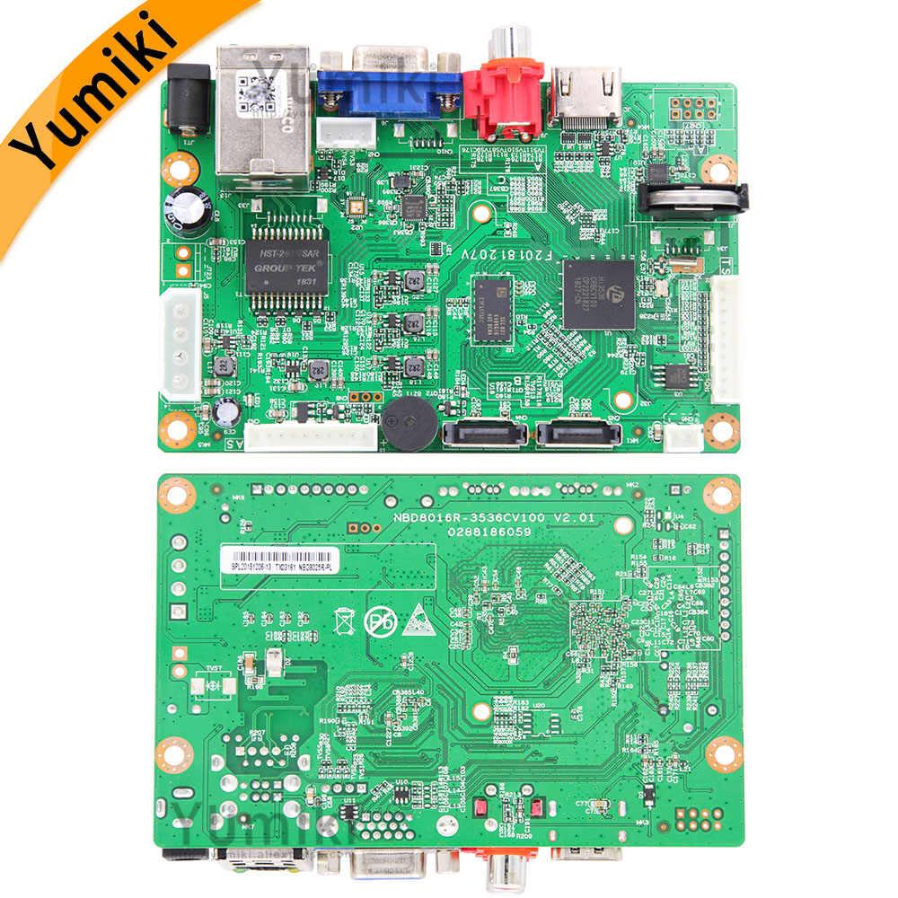 8ch * 4 K/32ch * 5. 0MP/32ch * 1080P H.265/H.264 Nvr Netwerk Vidoe Recorder Dvr Board Ip Camera Met Sata Lijn onvif Cms Xmeye
