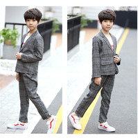 Teen Boys Blazers Kids Boys Suits for Weddings Prom Suits Wedding Dress for Children Clothing Kids Suits Boys