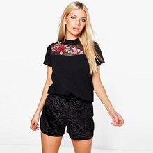 Fashion Sweet Floral Print Women T-shirt