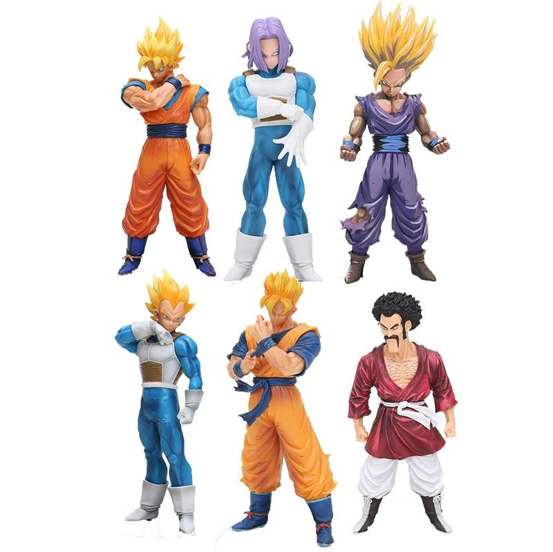 15-20cm Scultures Dragon Ball Z Action Figures Super Saiyan Son Goku Dragonball Vegeta Trunks Figure Dbz Doll Model Toy Toys & Hobbies