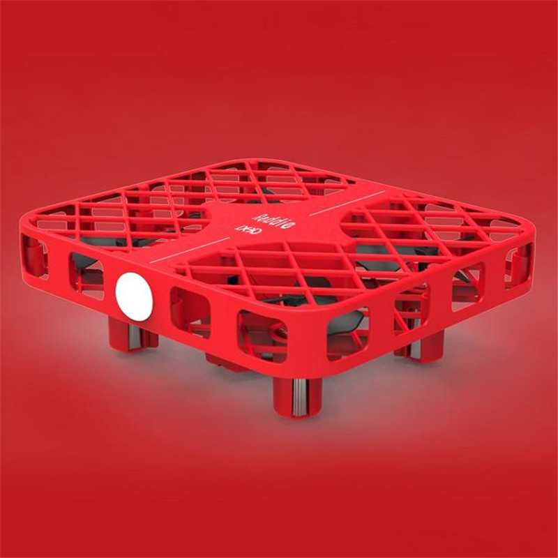 Hot DHD D3 Mini Mesh Headless Mode One Key Return 2.4G 4CH 6Axis 3D Mini Red RC Quadcopter RTF VS H36 FQ777-124 H8 mini CX10
