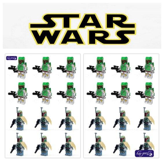 Hao gao le 100 unids/lote 7 figuras de soldados verdes con arma negra bloques de construcción de ladrillos figura juguetes compatibles-in Bloques from Juguetes y pasatiempos    1