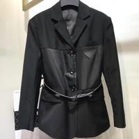 Formal Women Casual Jacket Spring Summer 2019 Women Black Slim Single Button Casual Business Jacket