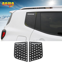 BAWA Car Stickers for Jeep Renegade 2016 2017 Rear Triangular Glass Decoration Trim Accessories Sticker for Jeep Renegade