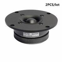Good Quality 2PCS Speaker 4 Inch Dome Tweeter QA2102X For Home Theater Speaker Book Shelf Speaker Repair HiFi DIY Audio