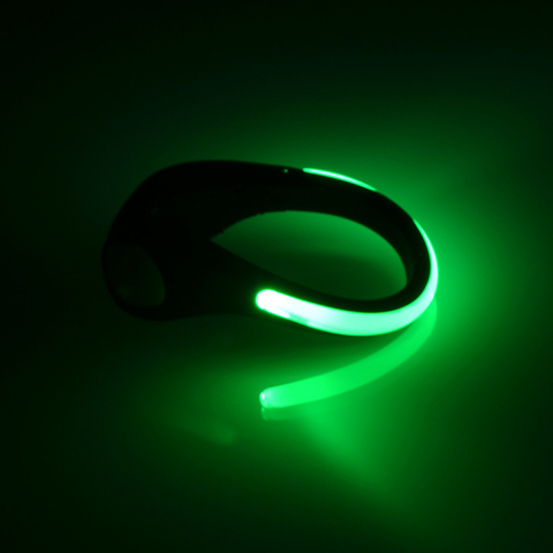 Top Outdoor Safety Shoe Clip Running Walking Bike Cycling Bicycle LED Sport Light for Night Runner Joggers Walkers Biker Hot 5