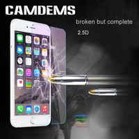 CAMDEMS 500 stücke für iphone 11pro max 11 xs max xr 6 6S 6plus 8 8plus X 7 7plus schutzhülle film Gehärtetem Glas screen protector
