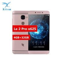Smartphone Letv LeEco Le 2 Pro X625 Helio X20 CPU 4 GB di RAM 32 GB di ROM 4G LTE Mobile telefono Android 6.0 5.5