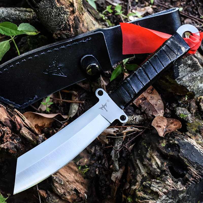 Outdoor Handmade Very Sharp Army Hunting Knifes High Hardness Fixed Blade Tactical Survival Gear Straight Knife Camping Knives  5