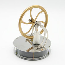 Hot Discovery Toys Sale Low Temperature Stirling Engine Motor Model Steam Heat Education Gift For Kid Free shipping
