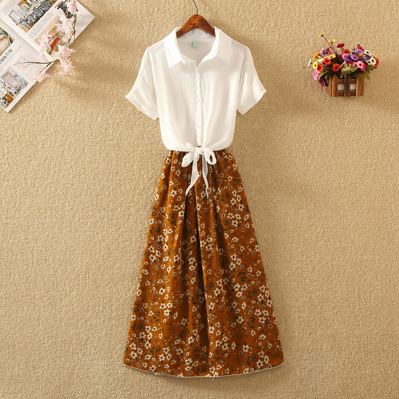 UIDEAZONE Chiffon Fashion Women Dresses Robe Femme Floral Summer Dress Vestidos De Fiesta Elegant Slim Long Dress