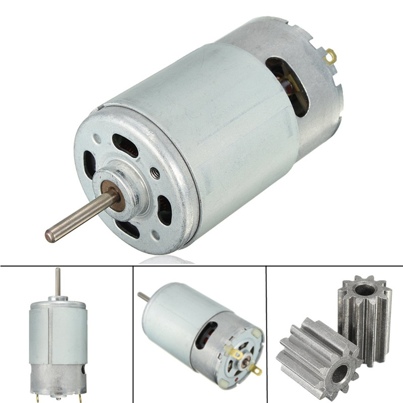 DC Motor 12V 30000 RPM for Children Electric Car RC Ride Baby Car Electric Motor RS550 Gearbox 10 Teeth Engine Permanent MagnetDC Motor 12V 30000 RPM for Children Electric Car RC Ride Baby Car Electric Motor RS550 Gearbox 10 Teeth Engine Permanent Magnet